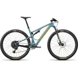 Santa Cruz Blur C R 2020, aqua/yellow - Mountainbike