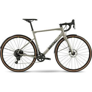 BMC Roadmachine X 2021, grey & black - Gravelbike