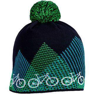 Cube Beanie Bike, blue´n´green - Mütze