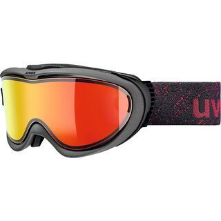 uvex comanche TOP, anthracite/Lens: mirror red - Skibrille