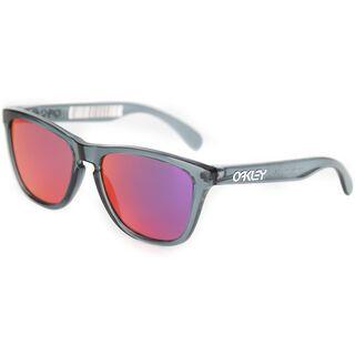 Oakley Frogskins, anthracite transparent/violet iridium - Sonnenbrille