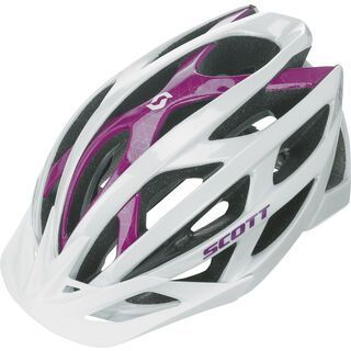 Scott Wit, white/purple - Fahrradhelm