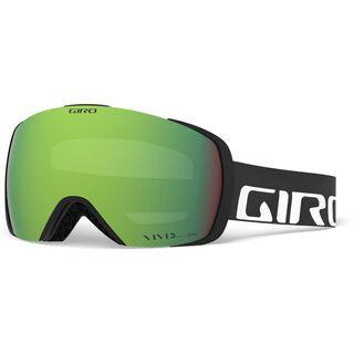 Giro Contact inkl. Wechselscheibe, black wordmark/Lens: vivid emerald - Skibrille