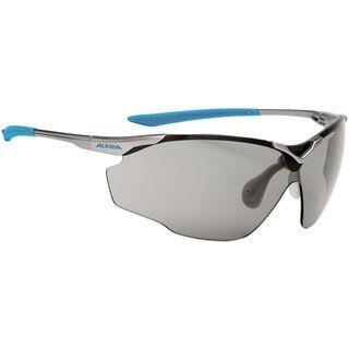 Alpina Splinter Shield VL, titan cyan/Lens: varioflex black - Sportbrille
