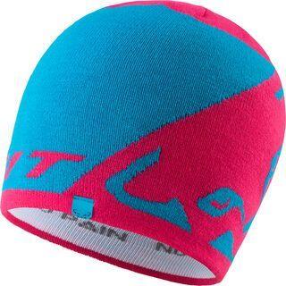 Dynafit Leopard Logo Beanie, lipstick - Mütze