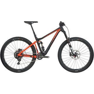 *** 2. Wahl *** BMC Trailfox 02 X01 2017, black/orange - Mountainbike | Größe M // 43,5 cm