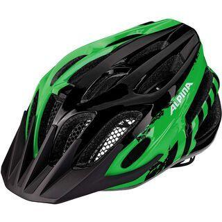 Alpina FB Junior 2.0, black green - Fahrradhelm