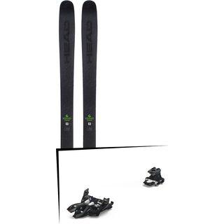 Set: Head Kore 105 2019 + Marker Alpinist 9 black/titanium