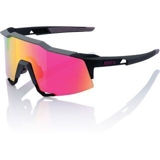 100% Speedcraft Tall, soft tact graphite/Lens: purple mirror - Sportbrille