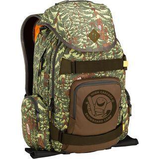 Burton Hcsc Shred Scout Pack, forest print - Rucksack