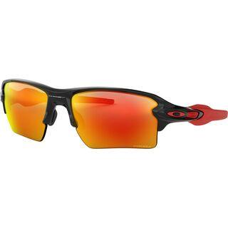 Oakley Flak 2.0 XL Prizm, polished black/Lens: prizm ruby - Sportbrille