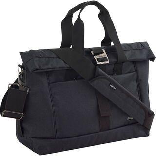 Burton Charter Messenger, True Black Heather Twill - Messenger Bag