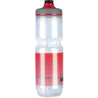 Specialized Purist Insulated Watergate 0,68 L, translucent/black/red straight away - Trinkflasche