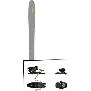 DPS Skis Set: Wailer 112 RPC Hybrid 2016 + Salomon Warden MNC 13