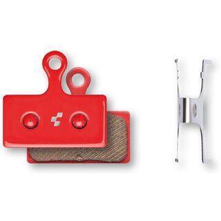 Cube Shimano XTR/XT/SLX/Alfine Scheibenbremsbelag - gesintert red
