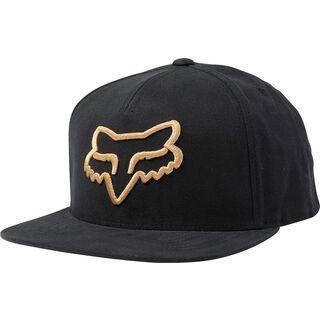 Fox Instill Snapback Hat black/yellow