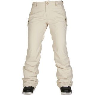 686 Womens Standard Pant, ivory diamond - Snowboardhose