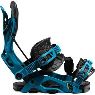 Flow Fuse Hybrid 2021, blue/black - Snowboardbindung