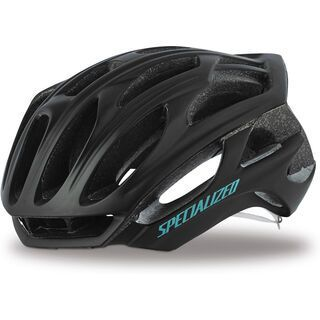 Specialized Women's S-Works Prevail, black/turquoise - Fahrradhelm