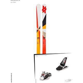 Völkl Set: Ledge 2014 + Marker Squire 11