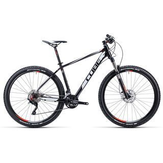 Cube Attention 27.5 2015, black/white/red - Mountainbike