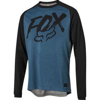 Fox Ranger Drirelease Fox LS Jersey, midnight - Radtrikot