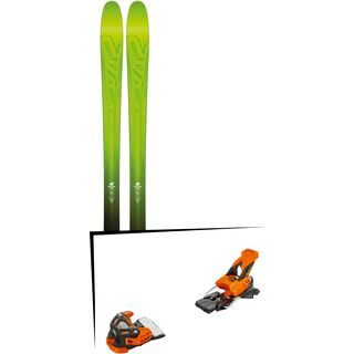 Set: K2 SKI Pinnacle 95 2017 + Tyrolia Attack 16 (1715200)