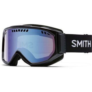 Smith Scope Pro, black/Lens: blue sensor mirror - Skibrille