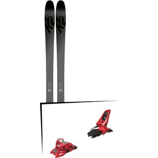 Set: K2 SKI Pinnacle 95Ti 2019 + Marker Squire 11 ID red