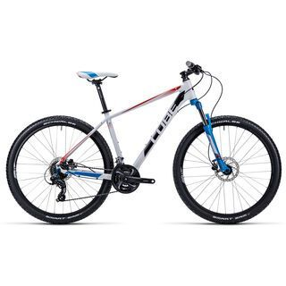 Cube Aim Disc 27.5 2015, white/red/blue - Mountainbike