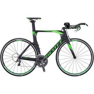 Scott Plasma 10 2016, black/green - Triathlonrad