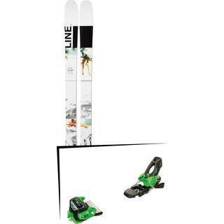 Set: Line Tom Wallisch Pro 2019 + Tyrolia Attack² 11 GW green