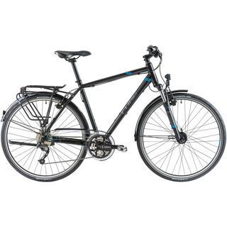 Cube Touring 2014, black/grey/blue - Trekkingrad