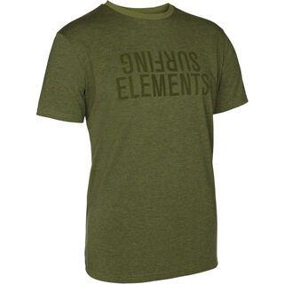 ION Surftee SS Elements, olive melange - Radtrikot