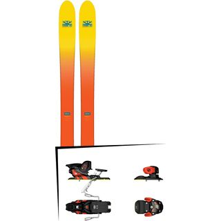 Set: DPS Skis Wailer F112 2017 + Salomon Warden MNC 13 (1540101)