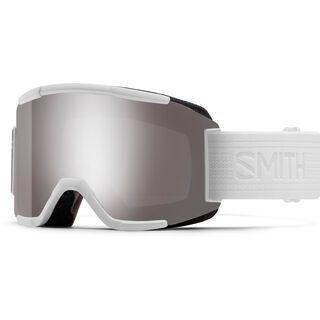 Smith Squad inkl. Wechselscheibe, whiteout/Lens: sun platinum mirror chromapop - Skibrille