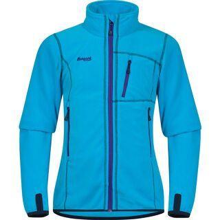 Bergans Runde Youth Girl Jacket, blue / navy / lavender - Fleecejacke