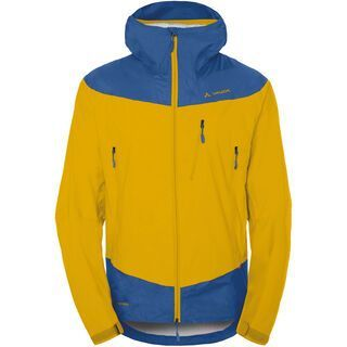 Vaude Men's Crestone Jacket, yellow - Regenjacke