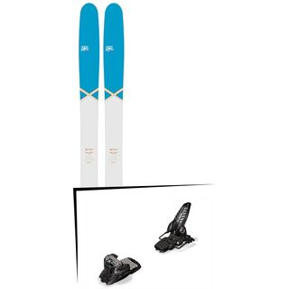 DPS Skis Set: Wailer 112 RP2 Pure3 Special Edition 2016 + Marker Griffon 13