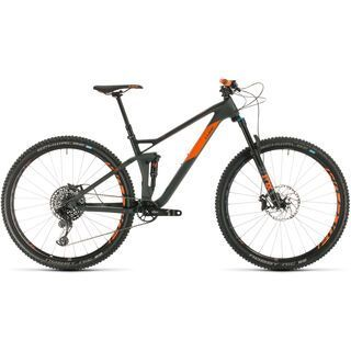 Cube Stereo 120 HPC TM 29 2020, grey´n´orange - Mountainbike