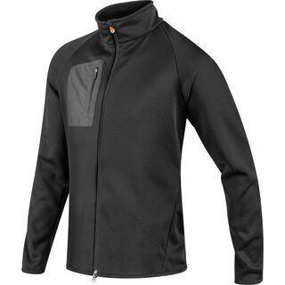 Komperdell Full Zip Sweater Men, schwarz/orange - Protektorenjacke
