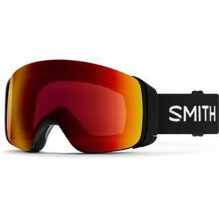 Smith 4D Mag, black/Lens: cp sun red mir - Skibrille