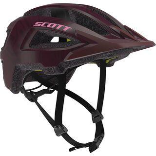 Scott Groove Plus Helmet, maroon red - Fahrradhelm