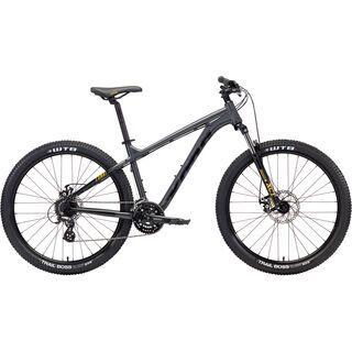 Kona Lana'I 27.5 2018, charcoal/black/yellow - Mountainbike