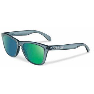 Oakley Frogskins, Crystal Black/Emerald Iridium - Sonnenbrille