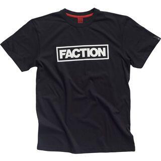 Faction Logo T, black/white - T-Shirt