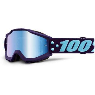 100% Accuri, maneuver/Lens: mir blue - MX Brille