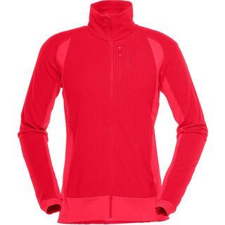 Norrona lofoten warm1 Jacket, rebel red - Fleecejacke