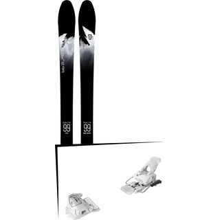 Set: Icelantic Sabre 99 2018 + Tyrolia Attack² 12 GW matt white