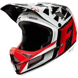 Fox Rampage Pro Carbon Given Graphic, black/white - Fahrradhelm